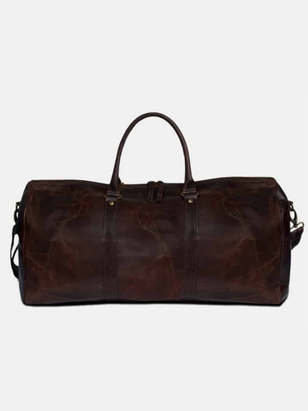 Amado pull up leather bag front