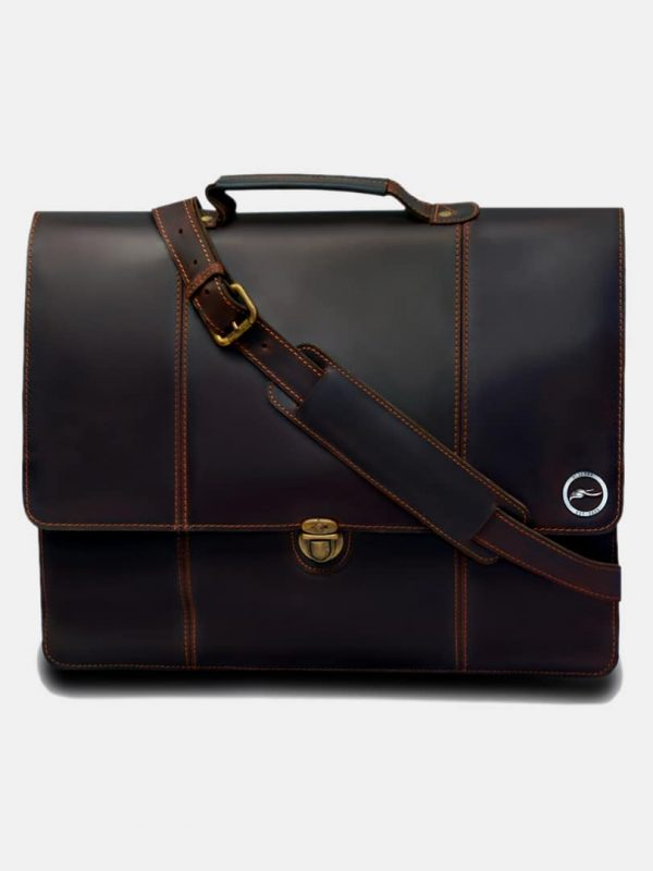 Eloi business bag - Leather crossbody bag